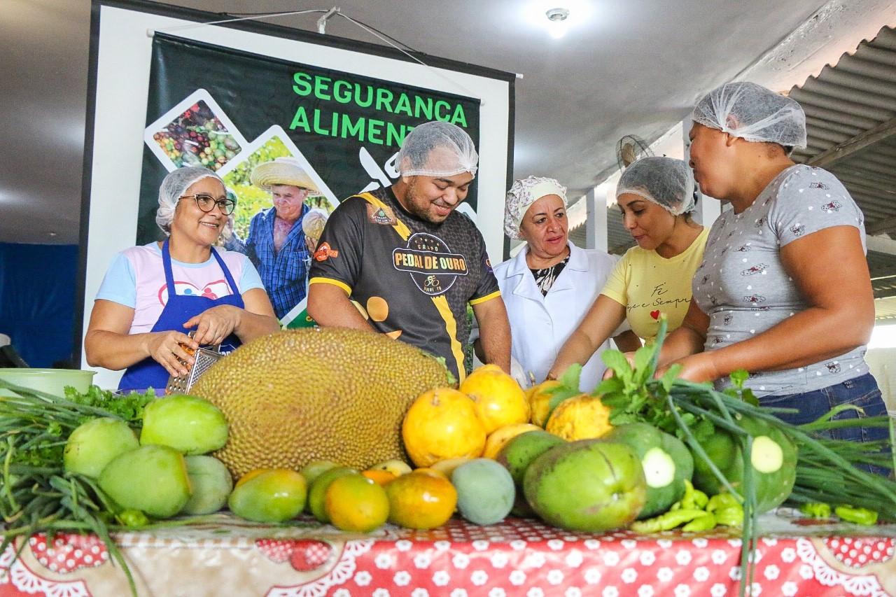 Oficinas de promoção de alimentação saudável acontecem em Aliança do Tocantins e Pium