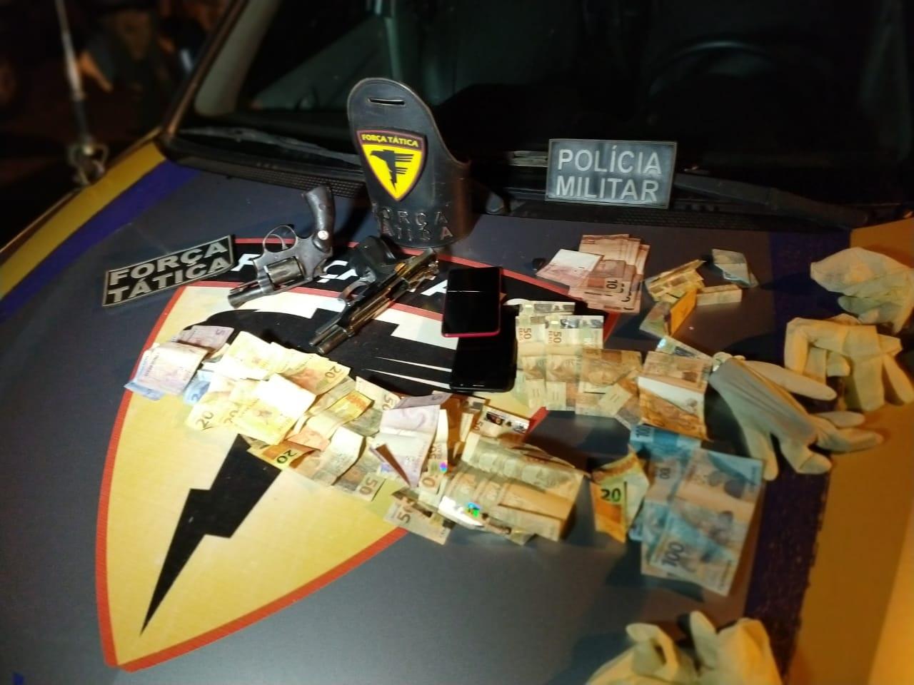 PM captura cinco por tráfico de drogas em Araguaína; dois deles morrem na troca de tiros com policiais