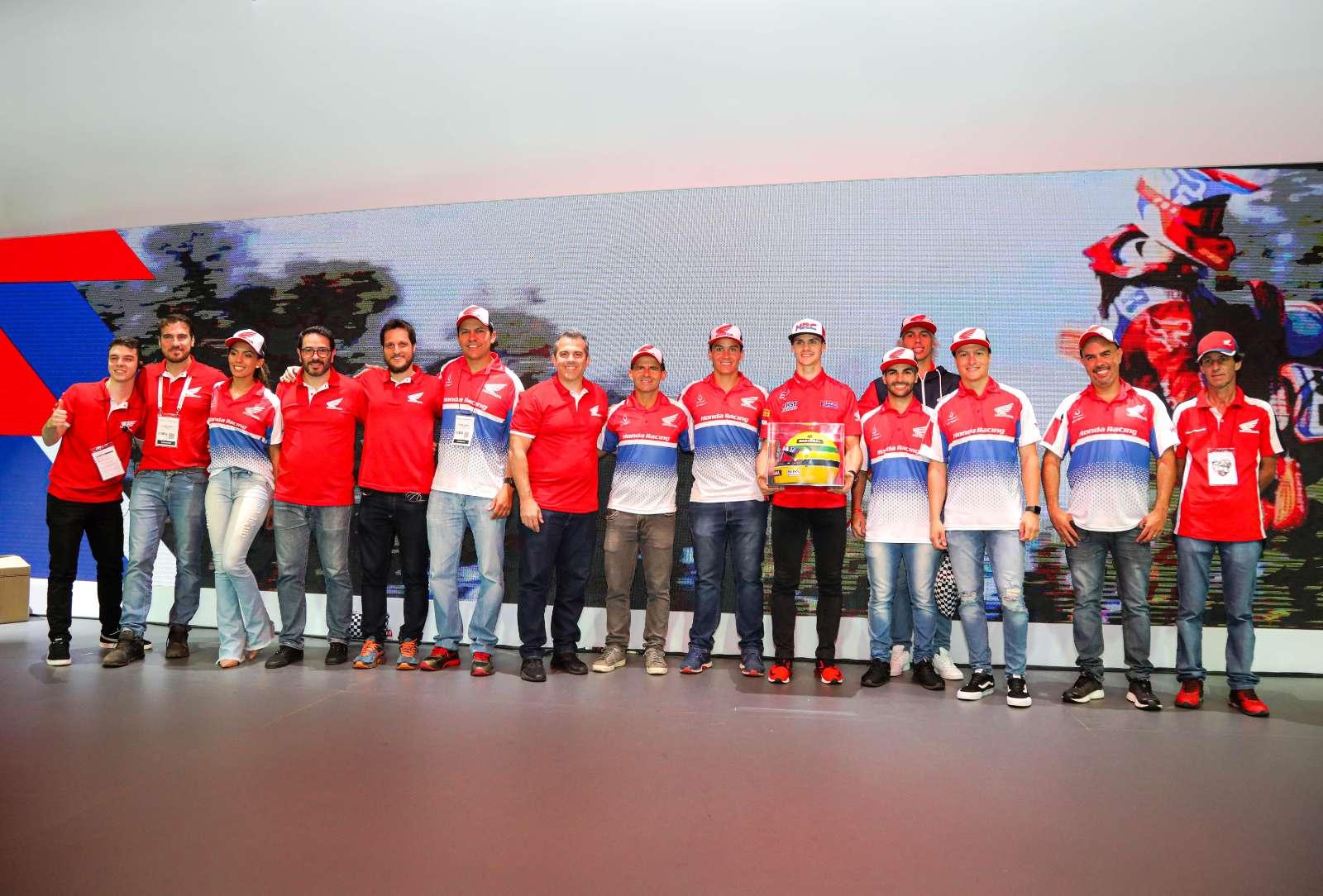 Atrações Honda Racing são destaques do Salão Duas Rodas 2019