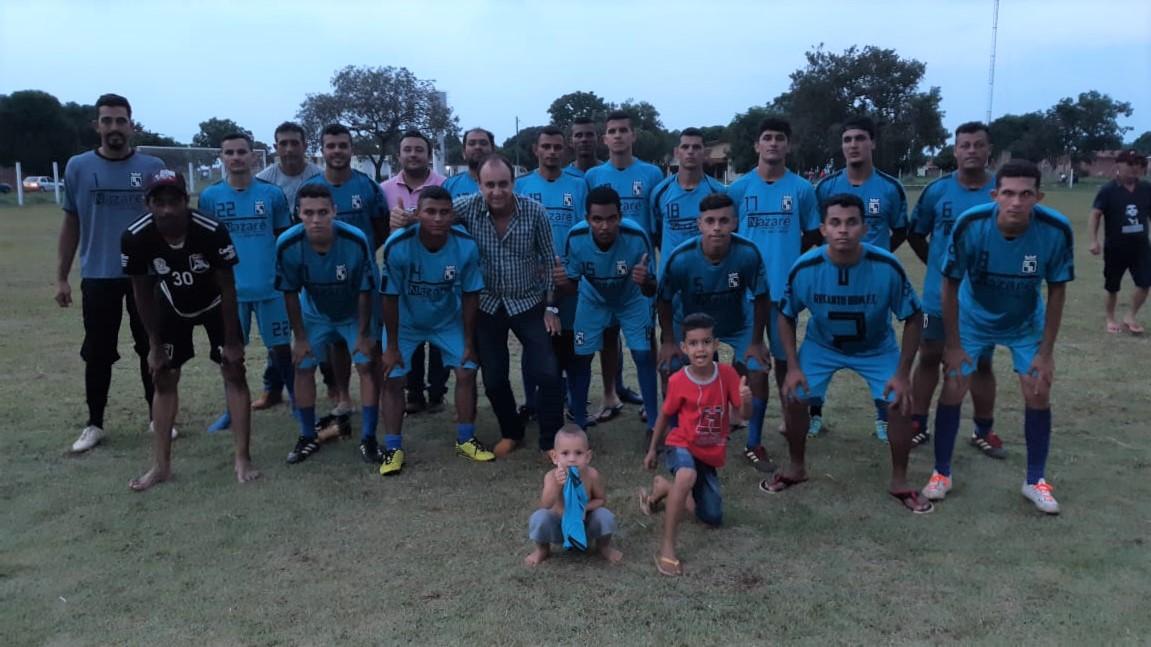 Prefeito de Monte Santo prestigia final Campeonato Municipal de Futebol Amador de Divinópolis