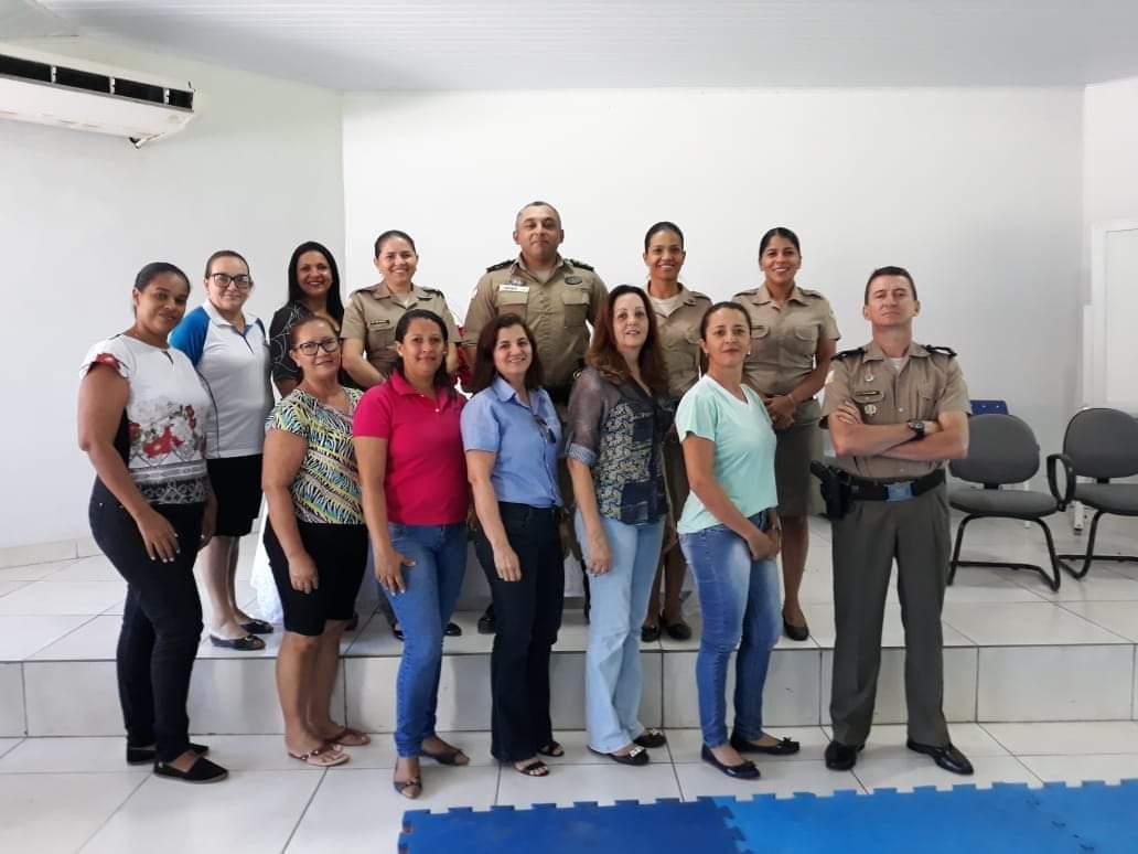 Polícia Militar realiza reunião com escolas para formatura PROERD do 8º BPM em Paraíso