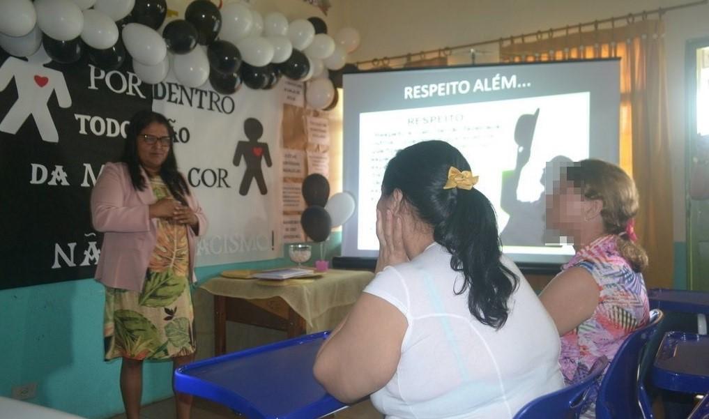 Mulheres privadas de liberdade participam de atividades alusivas ao Dia da Consciência Negra
