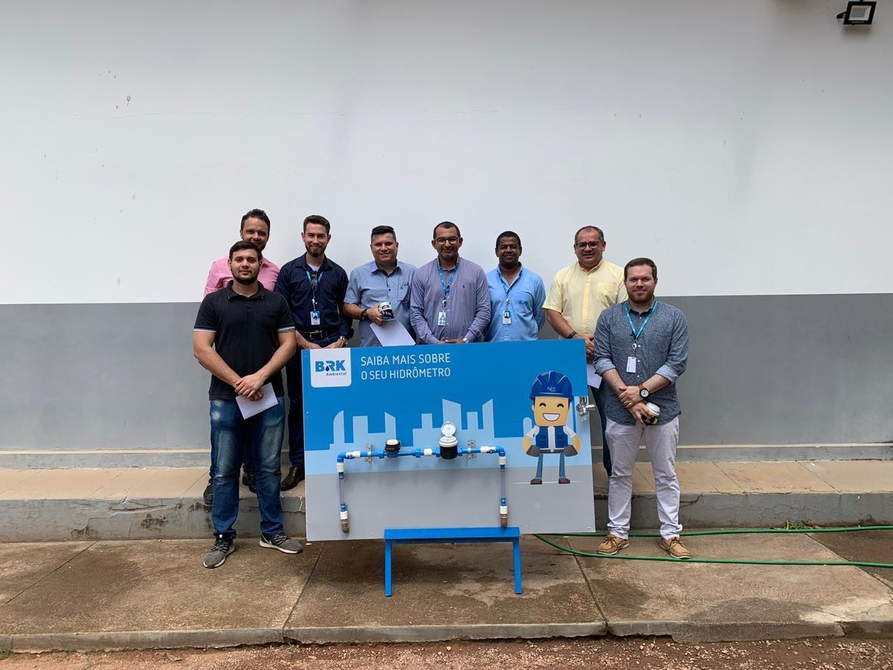 BRK Ambiental convida Procon e Defensoria Pública para conhecer os hidrômetros de Gurupi