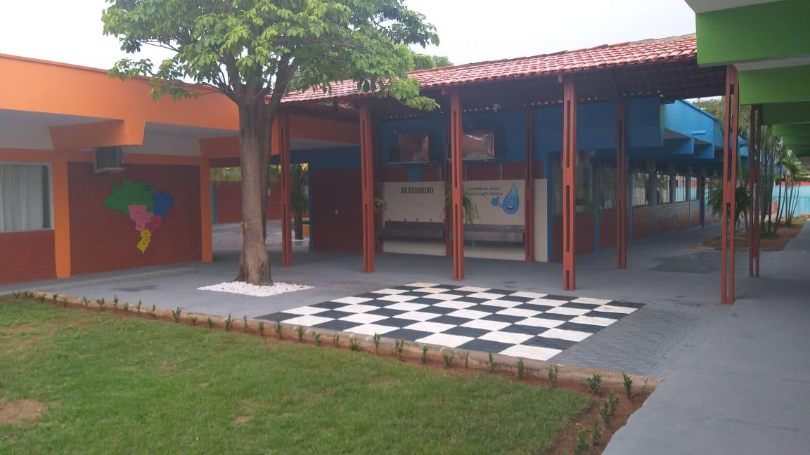 Jardim Aureny I recebe reforma da Escola Aurélio Buarque; Investimento de quase R$ 900 mil