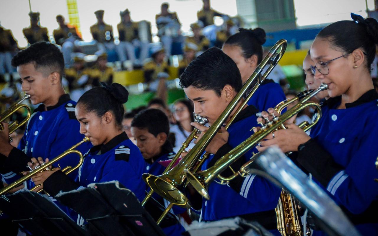 Bandas e Fanfarras abrem a 11º edição do Festival de Artes das Escolas