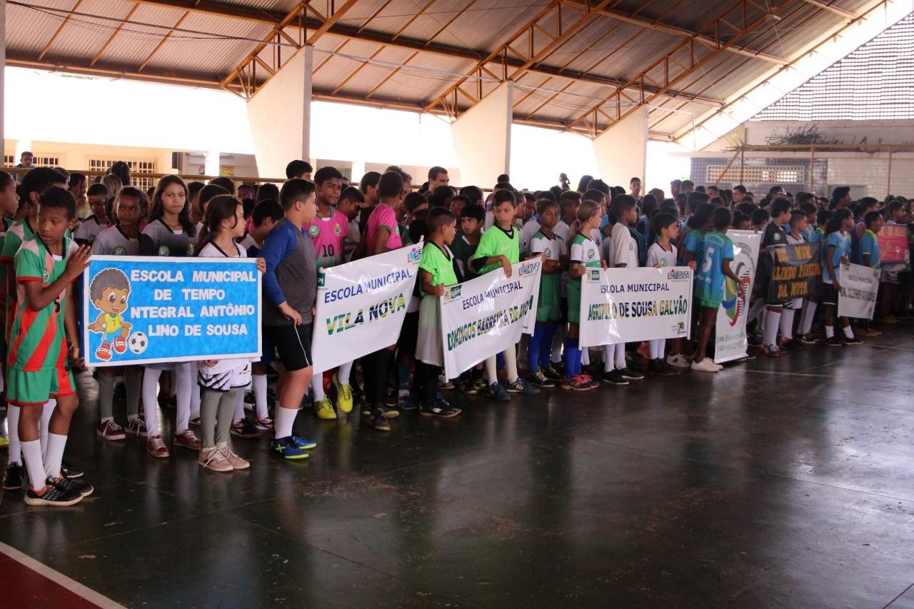 Rede municipal de ensino inicia Jogos Campeões da Escola em Gurupi