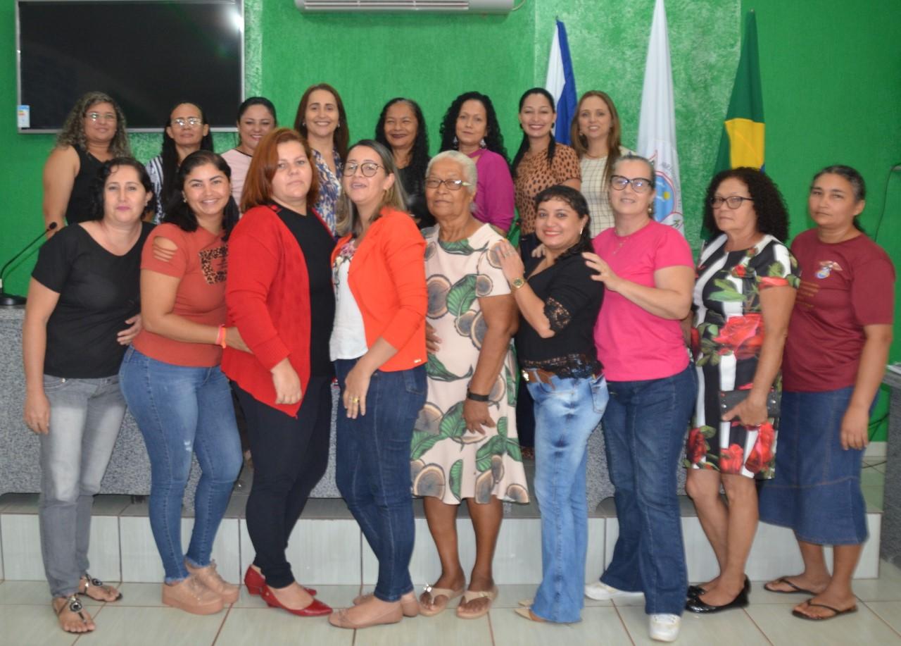 Presidente mulher do MDB Tocantins reúne com mulheres lideranças de Abreulândia