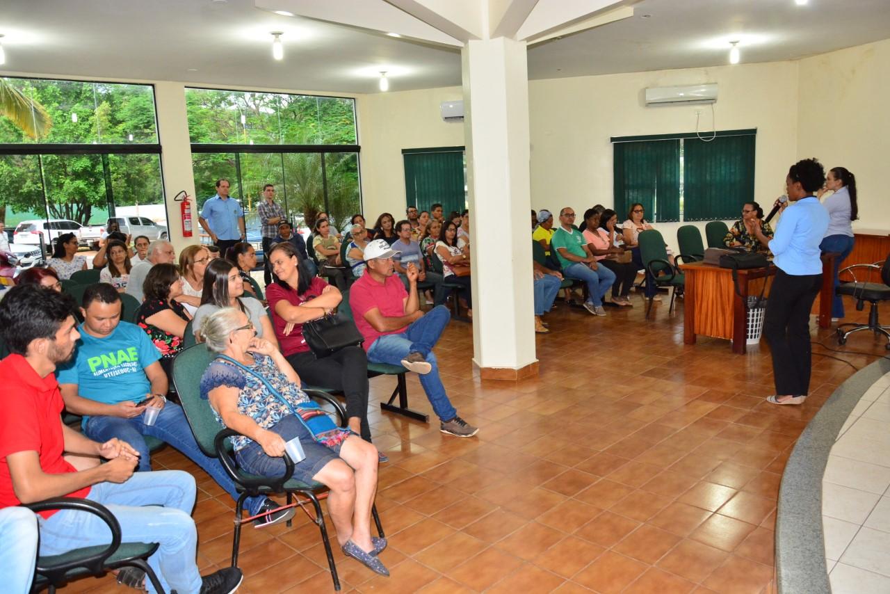Produtores Rurais de Paraíso participam de palestra sobre DAP, PNAE e Compra Direta