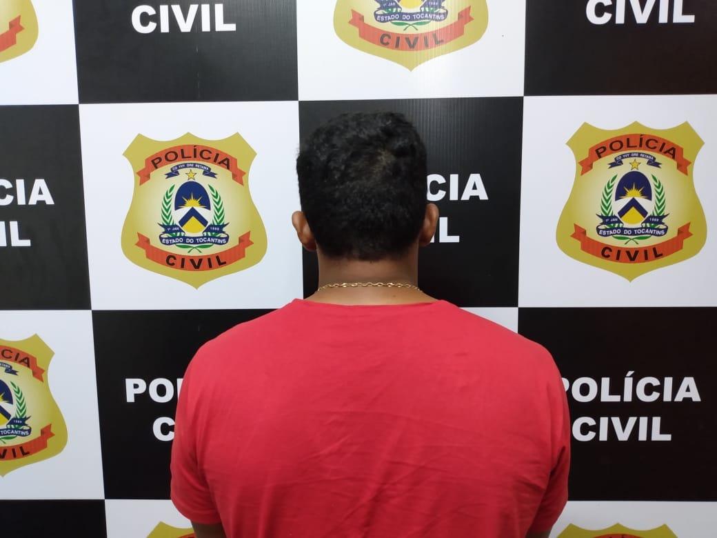 Polícia Civil de Paraíso TO prende homem foragido da justiça com moto adulterada