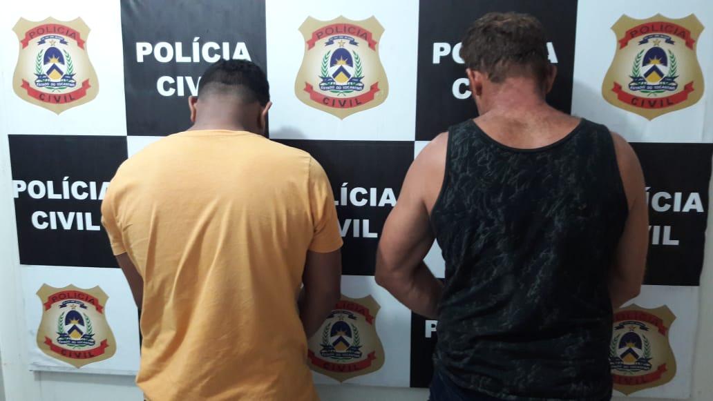 Polícia Civil prende dois homens, em Gurupi, por receptação e posse de arma de fogo