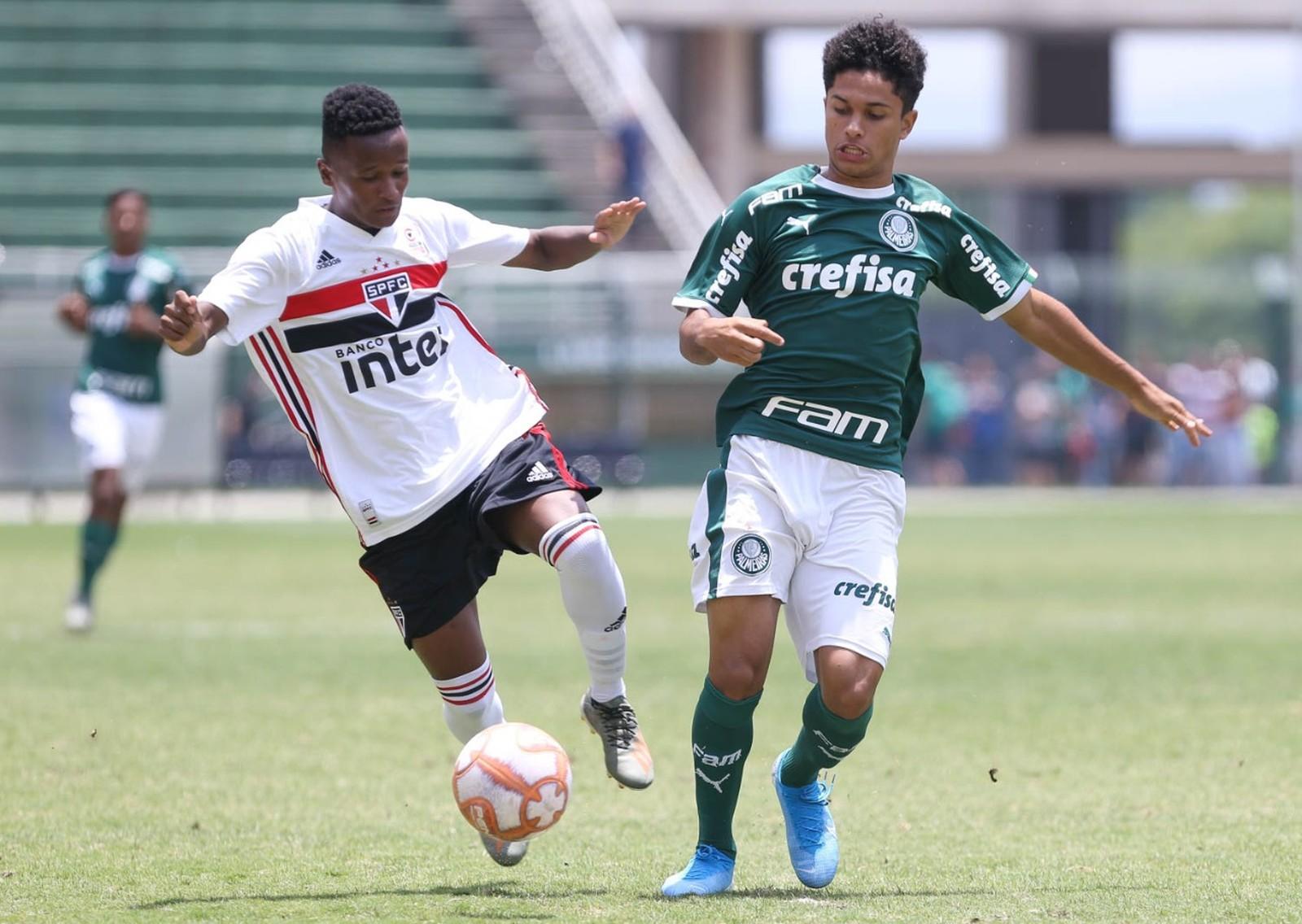 Com briga no fim, São Paulo vence o Palmeiras e conquista o título paulista sub-17