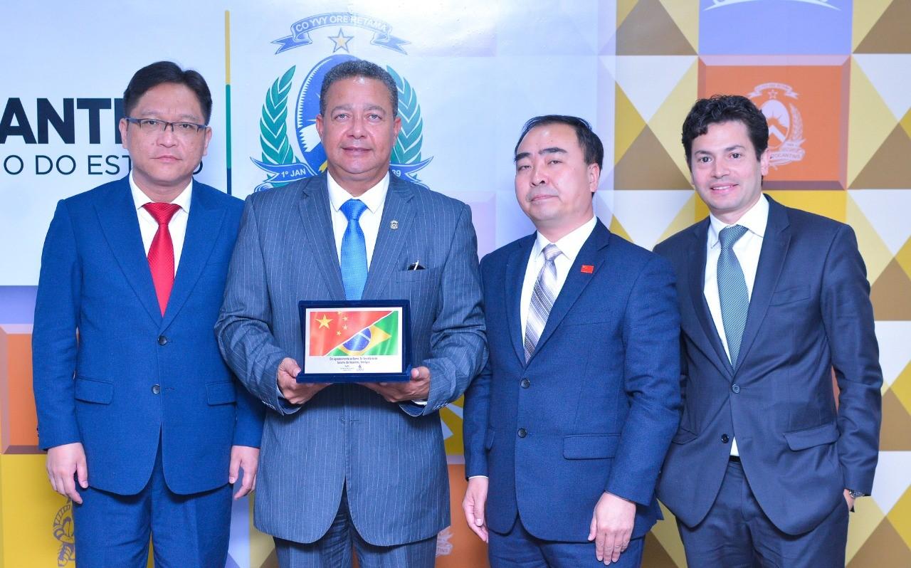 Governo do Tocantins e representantes da câmara de comércio de Shanghai discutem relações comerciais e de turismo