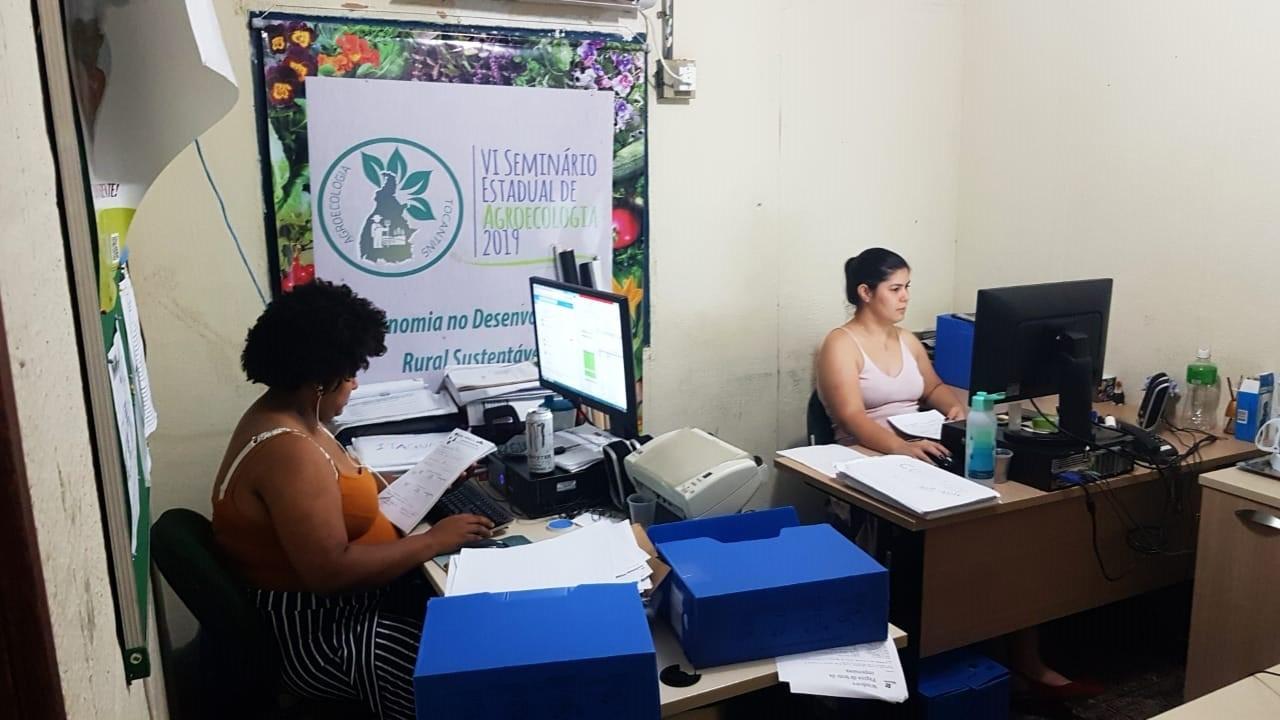 Técnicos do Ruraltins promovem mutirão para alinhar ações do Programa Quintal Verde