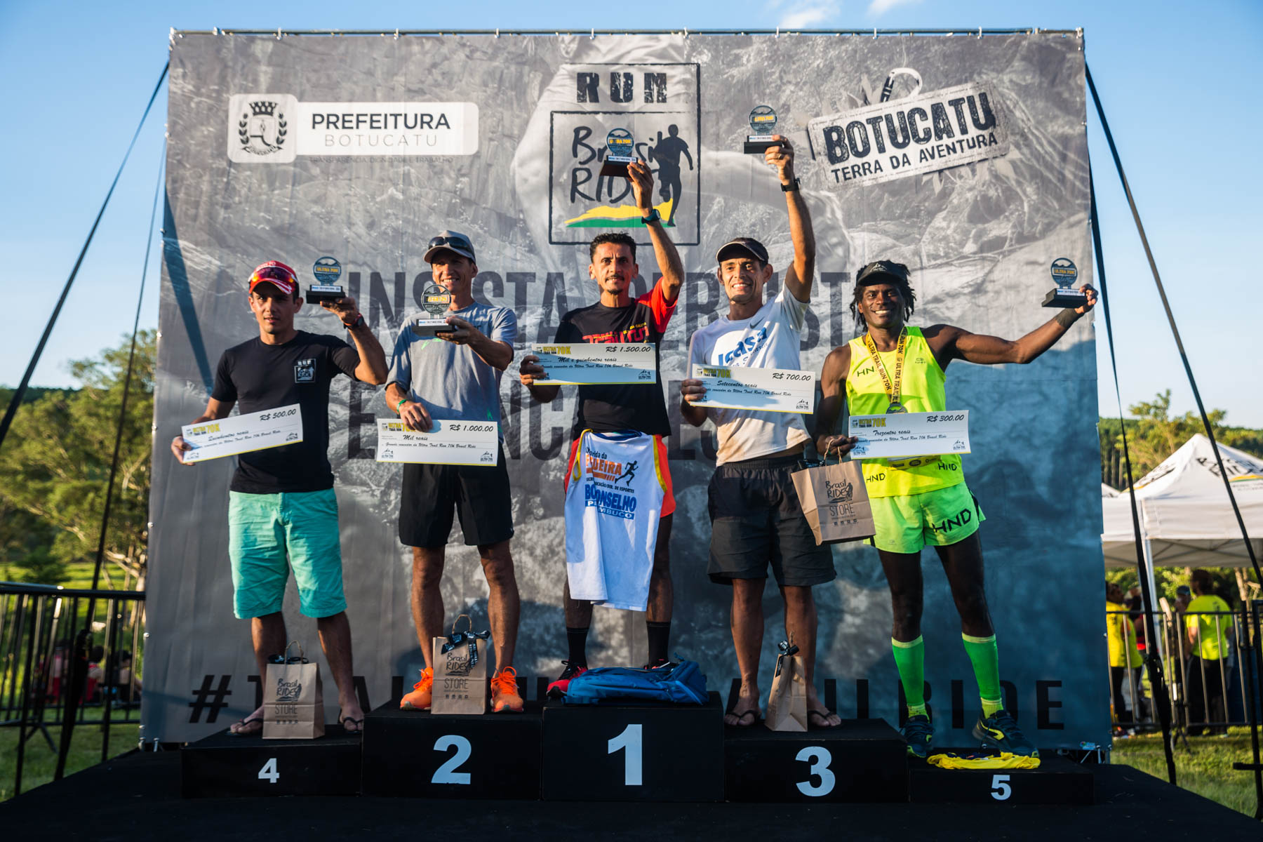 Silvanio do Nascimento conquista o tetracampeonato da Ultra Trail Run 70k Brasil Ride