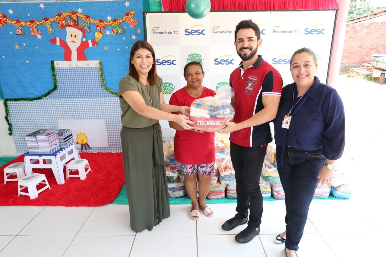 Educação Tocantinense entrega primeira parte dos alimentos arrecadados com as apresentações do Balé Popular