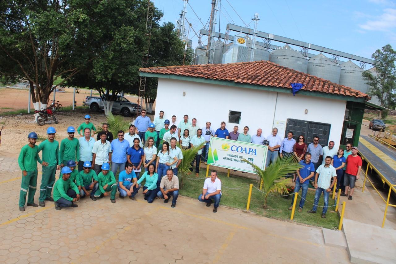 Coapa investe R$ 6 milhões na modernização de armazém em Pedro Afonso