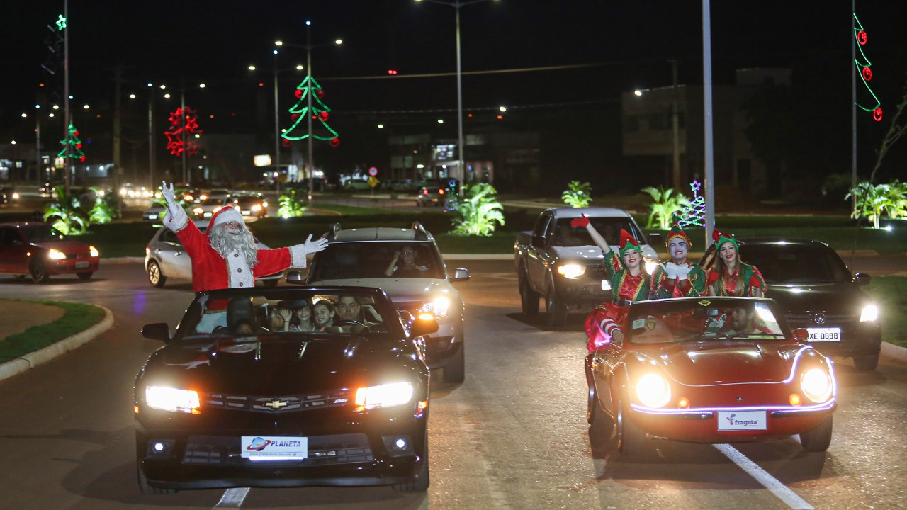 Natal Cidade Encantada terá programação especial em Taquaralto neste sábado, 07 e domingo, 08