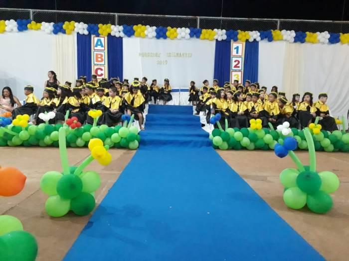Creche Criança Feliz realiza formatura do Pré-Escolar II em Tabocão
