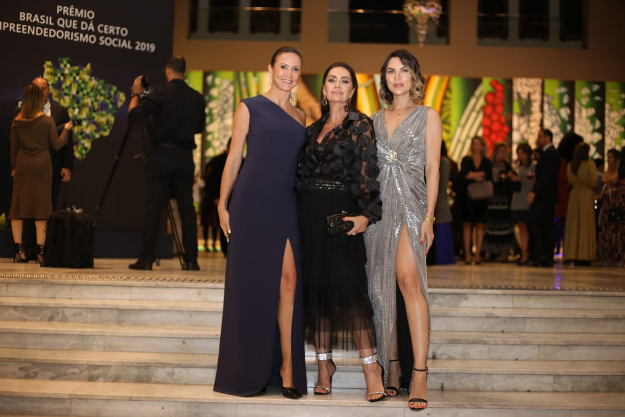 Famosos comparecem ao Premio Empreendedorismo Social 2019