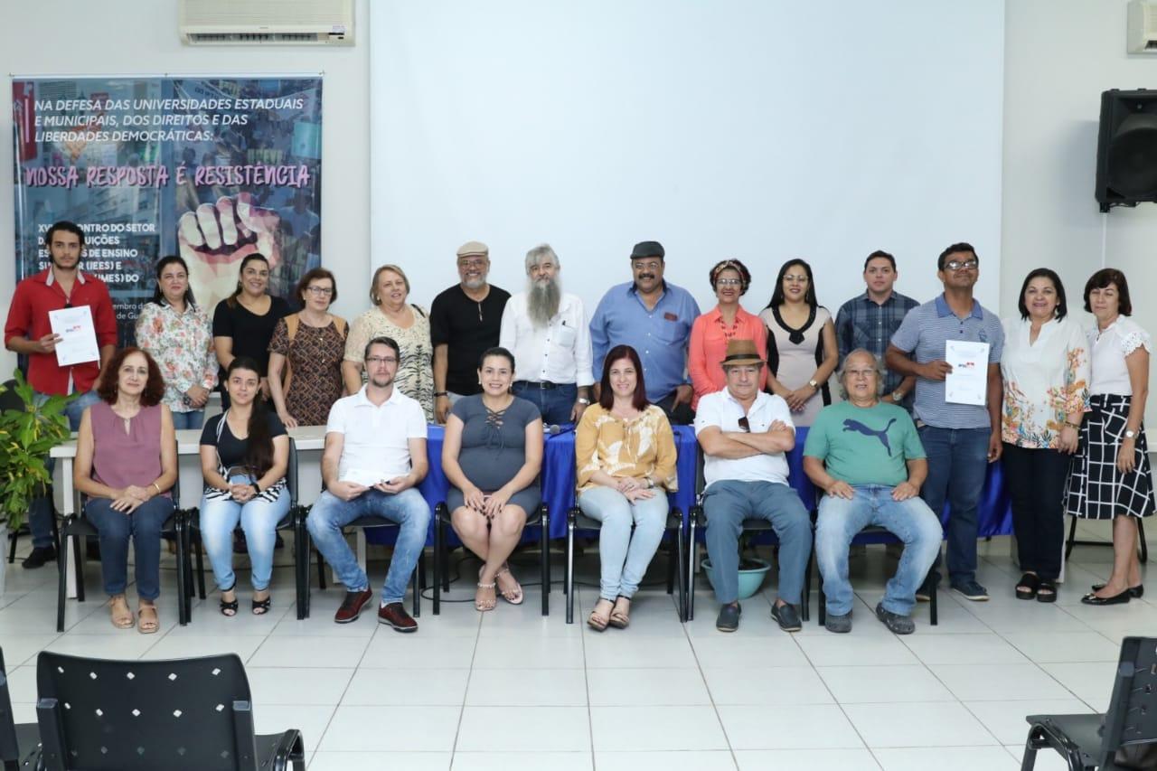 Nova diretoria da Associação dos Professores Universitários de Gurupi toma posse