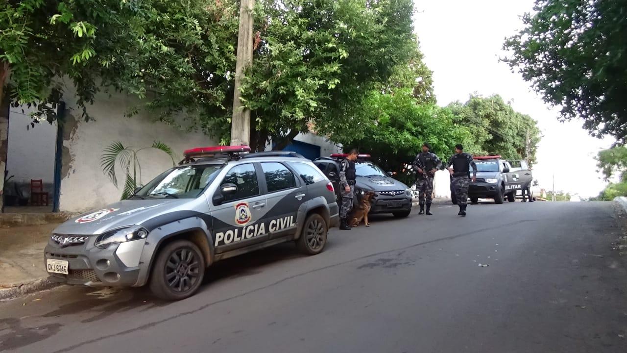 Operação 'Krampus' cumpre mandados de busca e apreensão em Porto Nacional