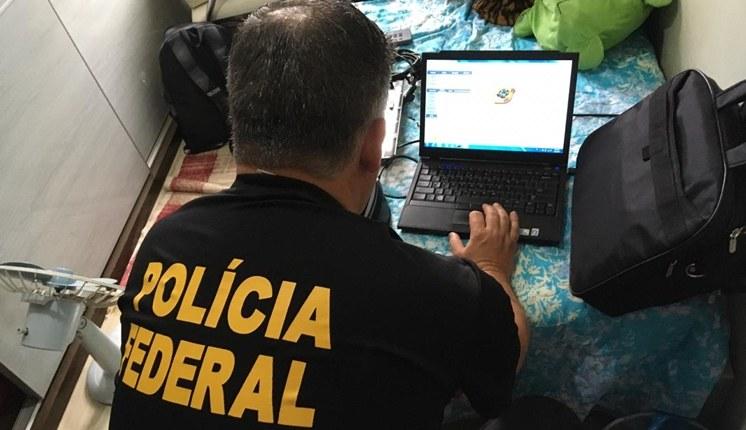 Polícia Federal combate compartilhamento de pornografia infantil na internet