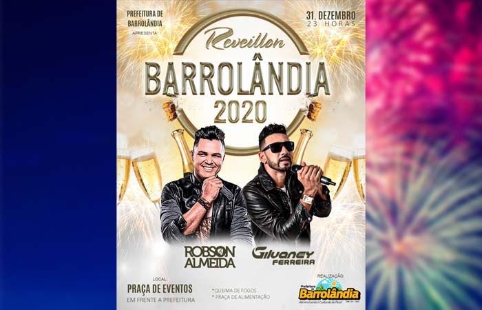 Prefeitura de Barrolândia promove festa de virada de ano com shows e praça de alimentação