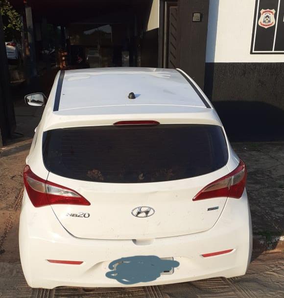 Polícia Civil apreende em Colinas veículo de Goiás com restrição de roubo