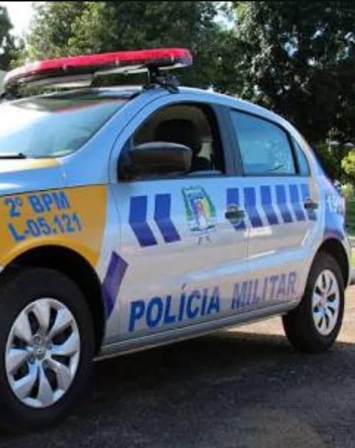 Homem pula muro, destrói cadeado de quartel da PM em Barra do Ouro e foge com moto apreendida