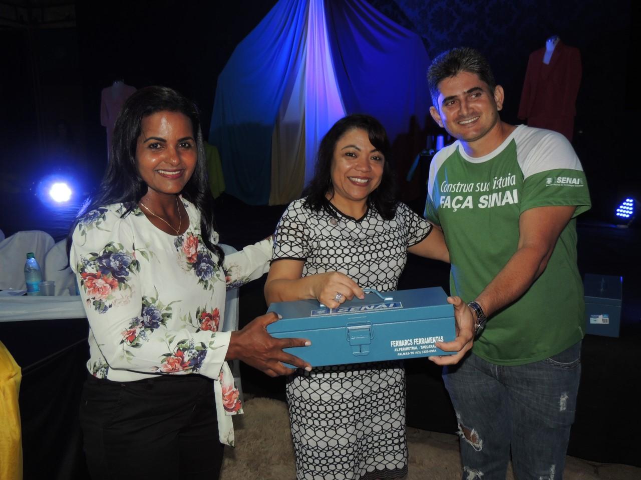 SENAI certifica alunos em Santa Rita do Tocantins