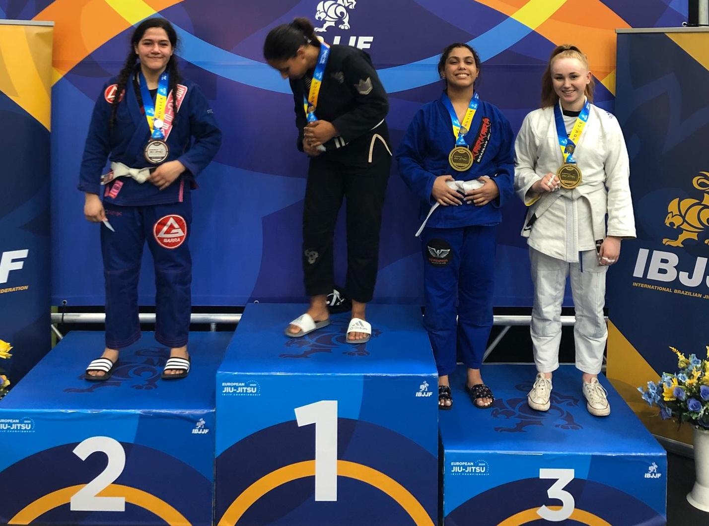 Projeto Dojô Amigo da 4ª CIPM de Lagoa da Confusão tem ex-aluna vice-campeã em competição européia de Jiu Jitsu