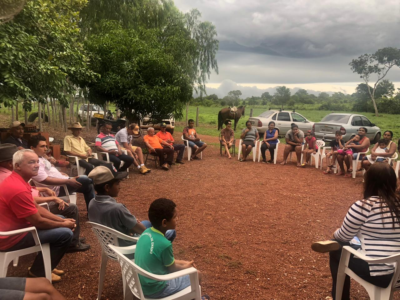 Educação Municipal é tema de reuniões em assentamentos de Cristalândia