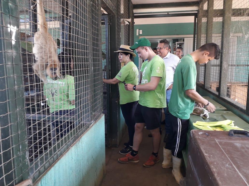 Organização americana visita Centro de Fauna do Tocantins