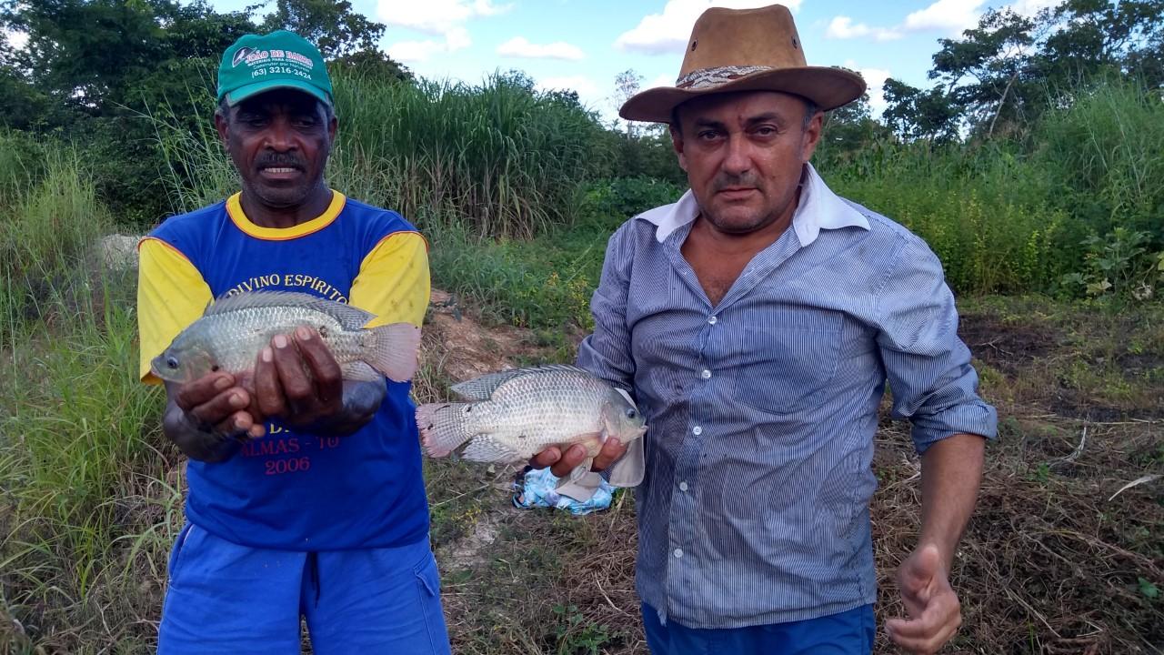 Ação integrada do Governo beneficia comunidades Quilombolas com 17 mil alevinos para produção de peixes