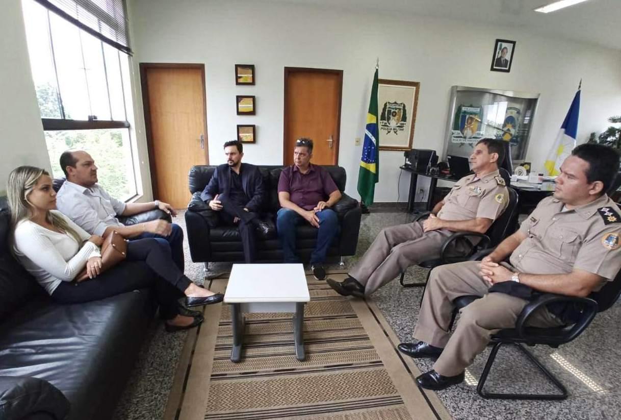 Prefeito de Miracema solicita mais segurança ao Comando Geral da Polícia Militar