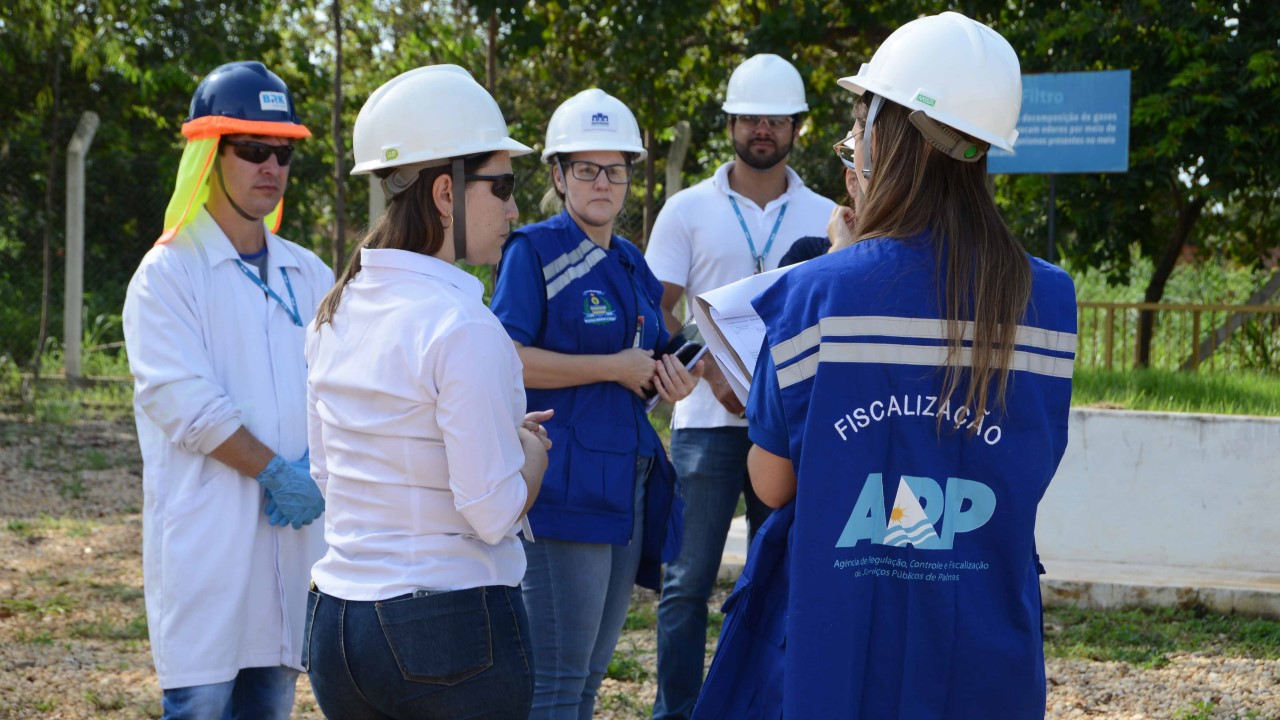 ARP vistoria Estações de Tratamento de Esgoto e Elevatórias da Região Sul da Capital