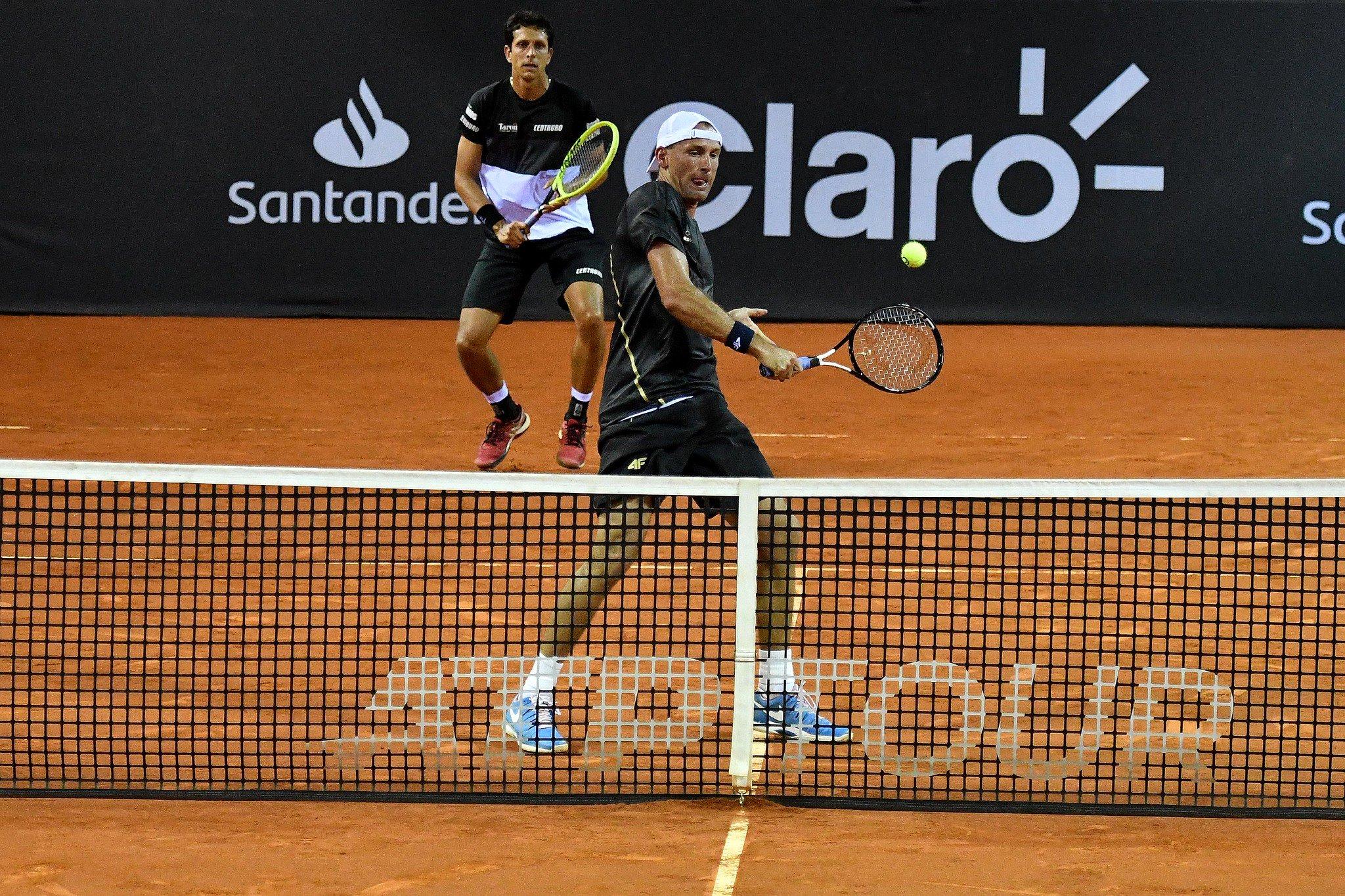 Melo e Kubot estão nas quartas de final do Rio Open
