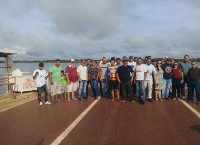 Balsa de Araguacema para Santa Maria das Barreiras volta a funcionar