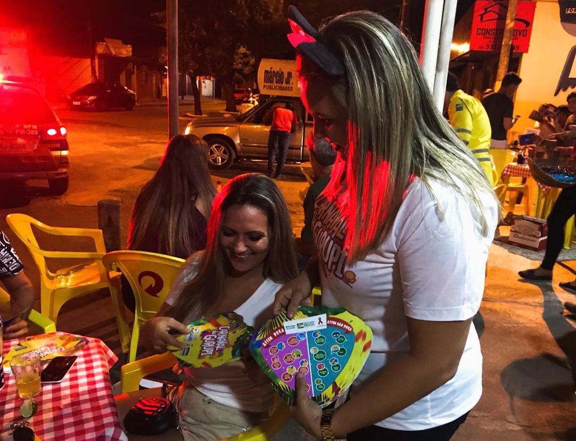 """A Agência de Trânsito e Transportes de Gurupi realiza campanha """"Carnaval Seguro"""""""