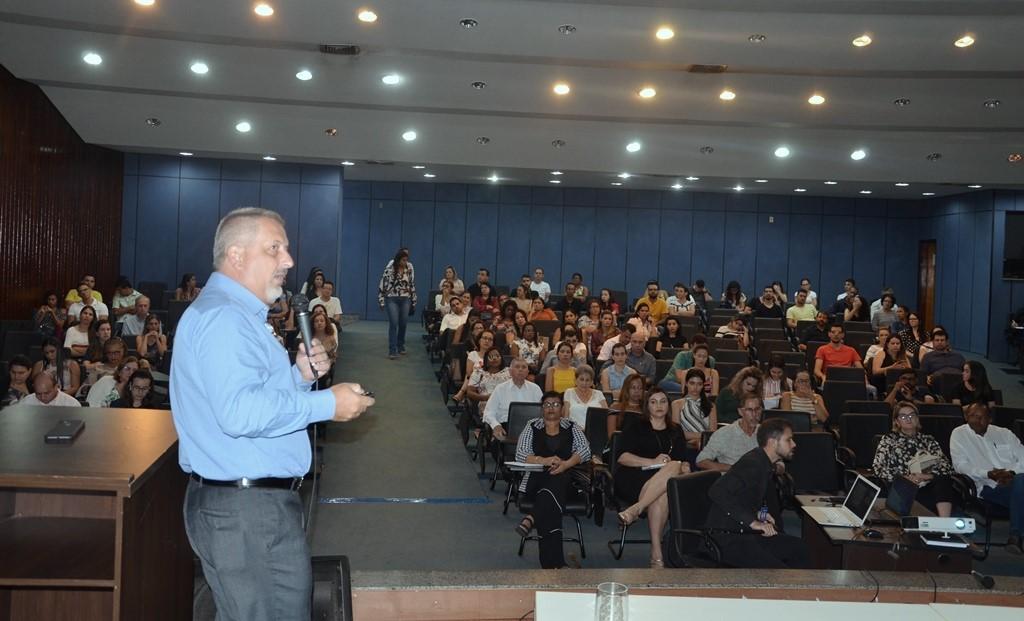 Saúde realiza Ciclo de palestras no dia Mundial de Combate ao Câncer