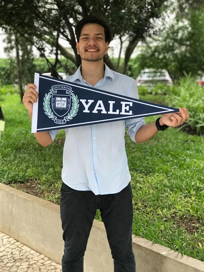 Com bolsa para programa preparatório, jovem é aprovado na Universidade de Yale