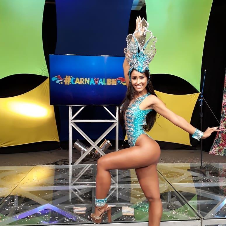 Laís Cruz será rainha da bloco Banda Mole em BH e musa no abre alás da Acadêmicos da Grande Rio