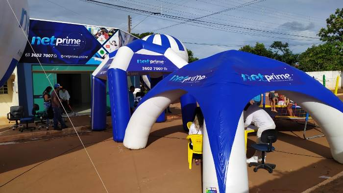 Netprime inicia operação de telecomunicações, redes e internet em Caseara