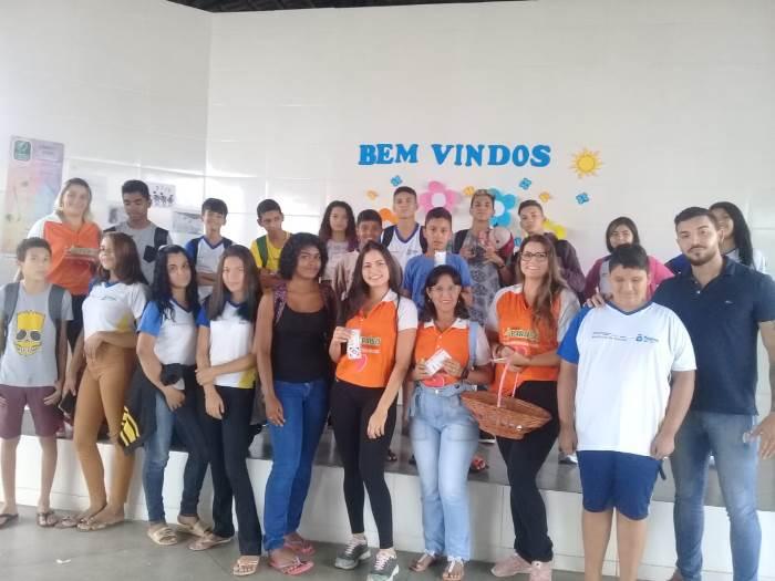 SEJUV de Paraíso promove ação com estudantes em Dia Nacional de Combate às Drogas