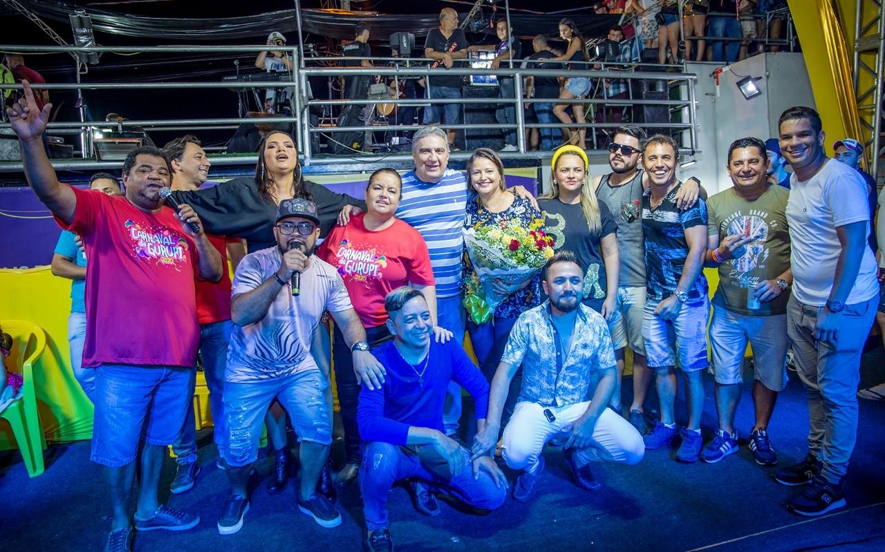 Na despedida do carnaval, prefeito Laurez Moreira ressalta a alegria de ter resgatado a folia gurupiense e vê-la consolidada