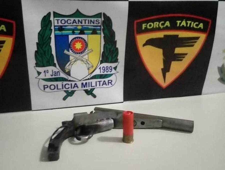 Homem é preso por porte ilegal de arma de fogo em Carrasco Bonito