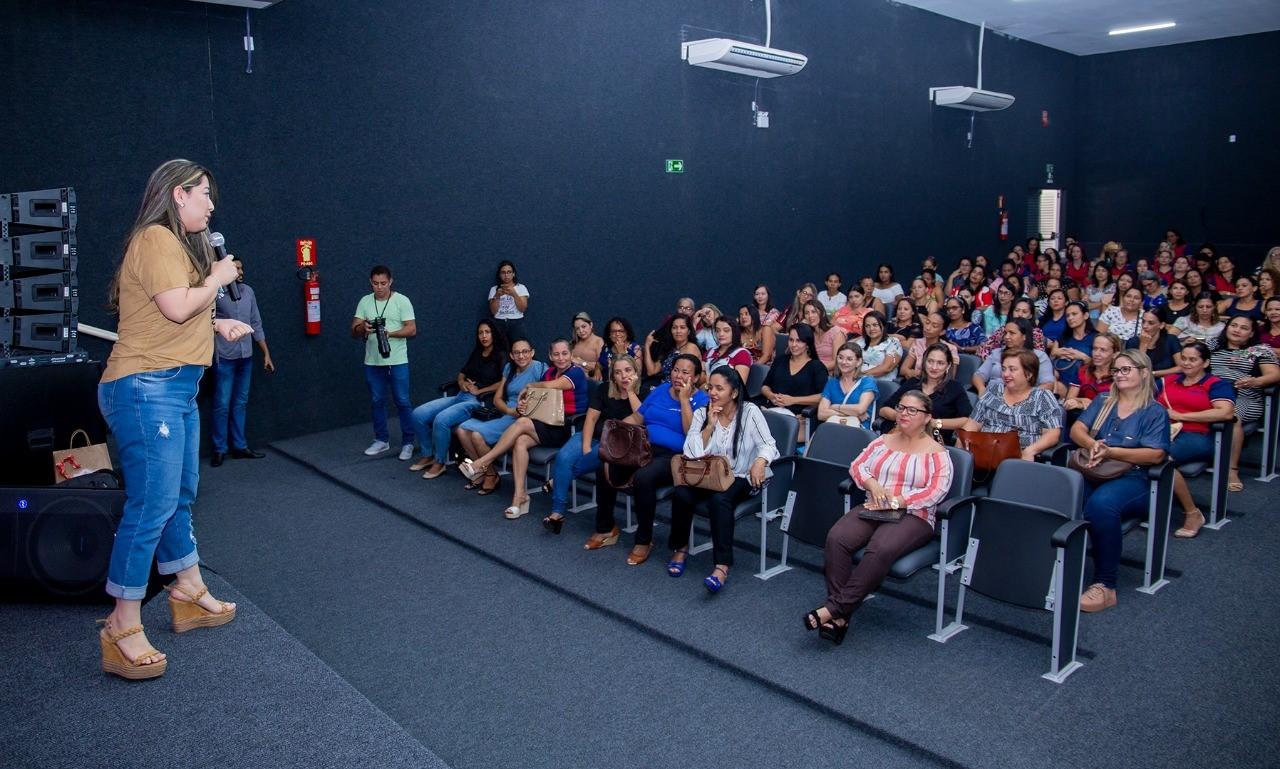 Professores da rede municipal participam de capacitação sobre Políticas Públicas da Educação Infantil em Gurupi