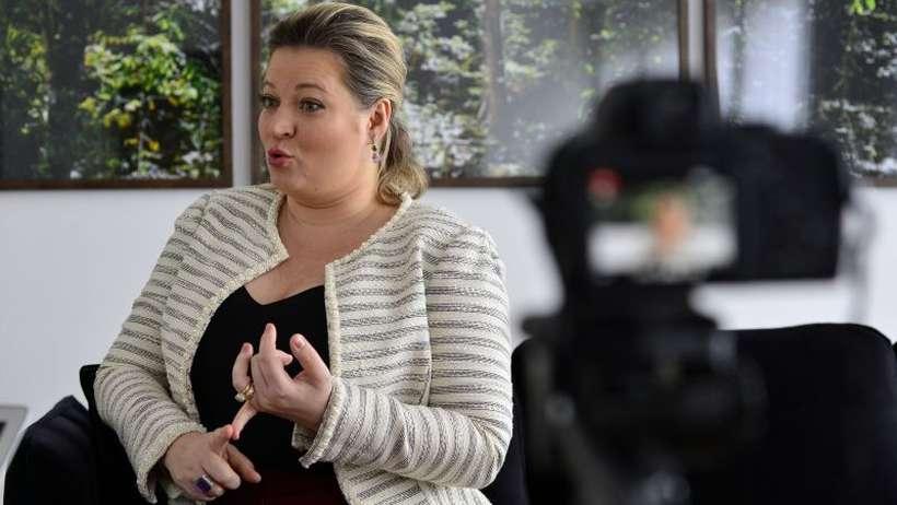 Ministério Público de SP investiga empresa do marido de Joice Hasselmann