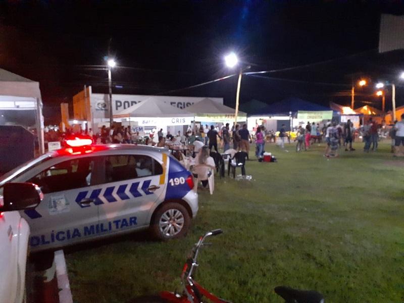 Polícia Militar garante tranquilidade em carnaval na área do 8º BPM