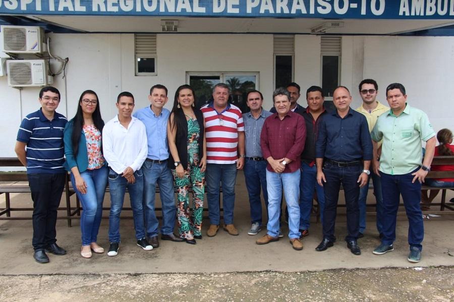 Em Paraíso, Osires Damaso anuncia R$ 10 milhões para a saúde do Tocantins